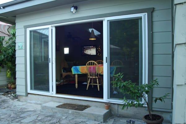 Panel Sliding Glass Door Open Yelp