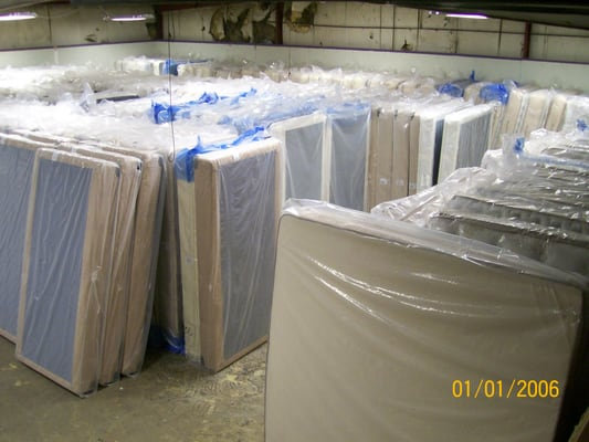 Over 300 mattress sets in inventory