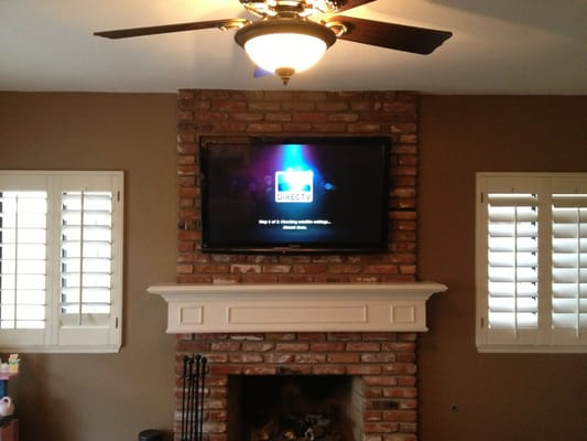 Brick Fireplace Wall Mount Yelp