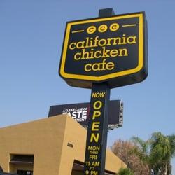 California Chicken Cafe Woodland Hills Yelp