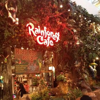 Rainforest Cafe Menu Burlington Ma