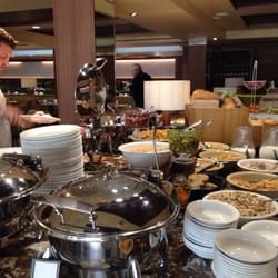 Continental buffet section
