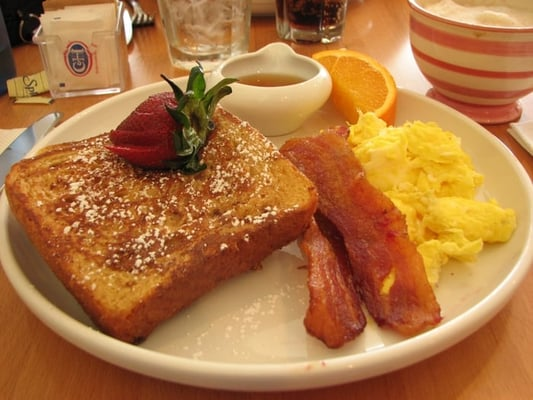 weekday breakfast special at meadows restaurant in Delta, BC