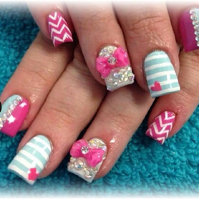 Nail design yelp nail art yelp best nail art ever yelp creative nail designs with d bows by ashley binnie yelp prinsesfo Choice Image
