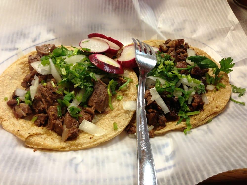 Tacos de lengua y tacos de asada | Yelp