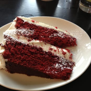 Red velvet cake, don't mind if I do :)