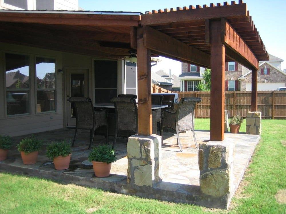 Outdoor Living Kitchen Deck Patio Roof Yelp