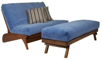 Twin Chair futon beds and Love Seat Lounger futon beds