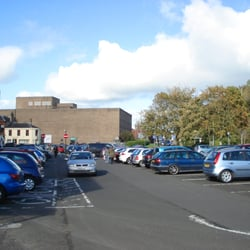 Car Park beside Wilkinsons, Kilmarnock