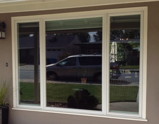 Anderson 400 series casement window installation in san for Anderson vinyl windows