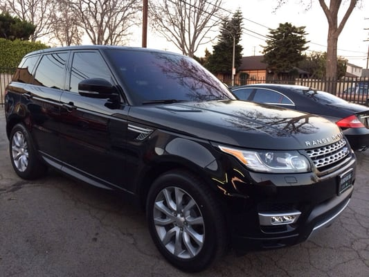 2014 range rover 3m crystalline 40 front windshield tint. Black Bedroom Furniture Sets. Home Design Ideas