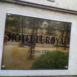 Hôtel le Royal, Paris, France