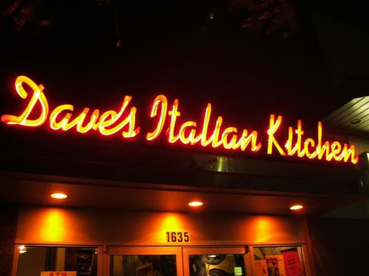 for Daves italian kitchen