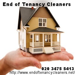 End of tenancy cleaners, London