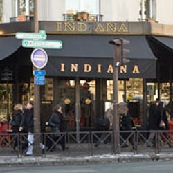 Indiana Café, Paris
