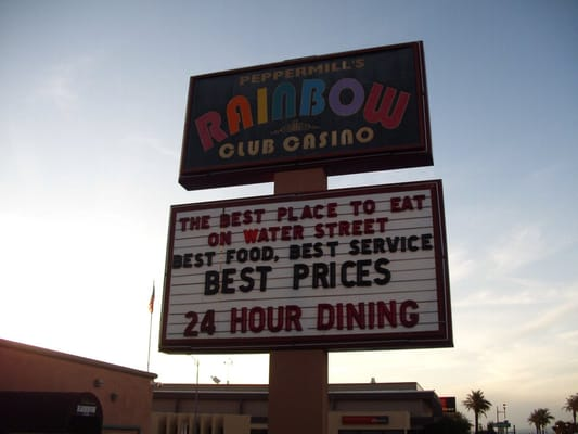 Rainbow casino henderson nv menu