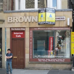 Brown The Stationers, Edinburgh