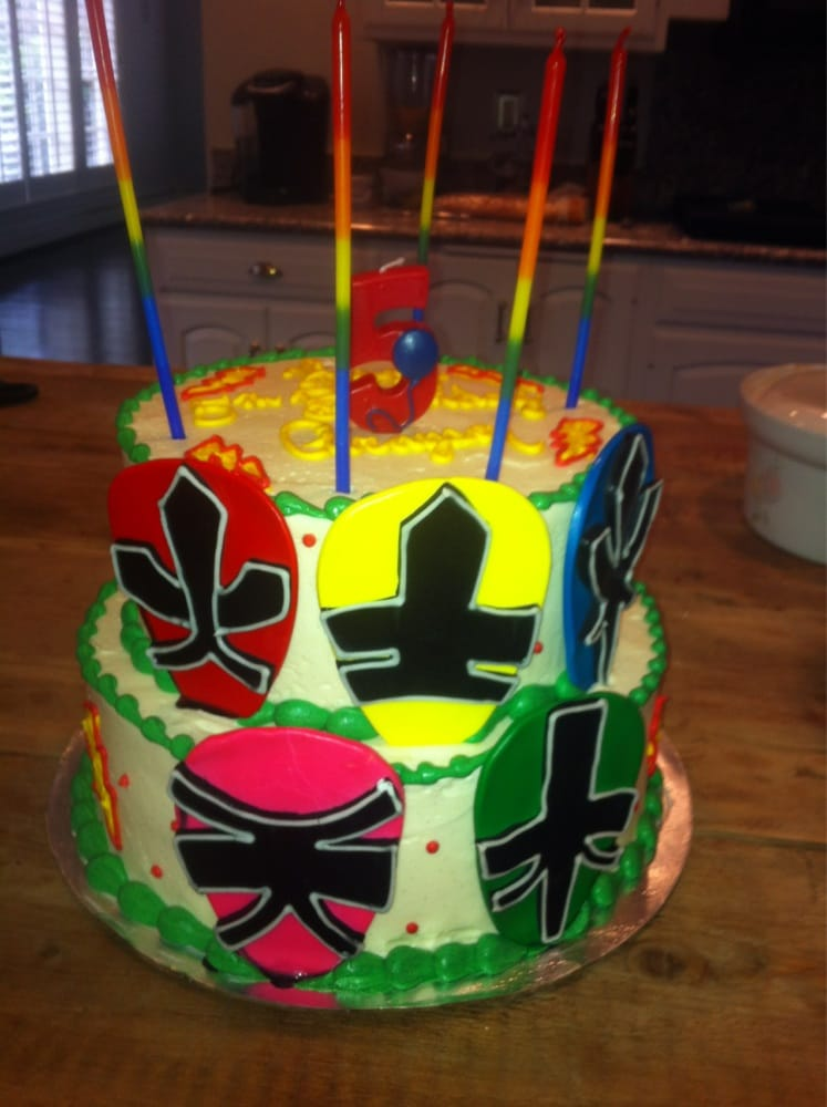 Power Rangers Birthday Cake Near Me