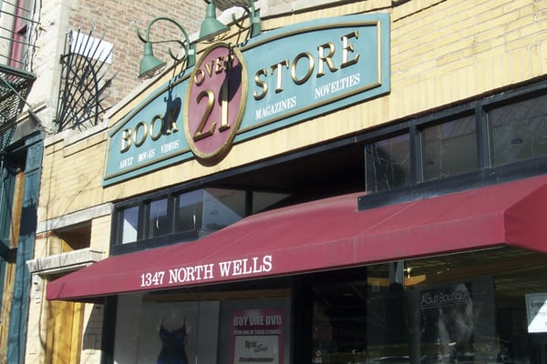 Over 21 Adult Bookstore