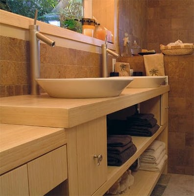 Asian inspired bathroom. Look to us for materials, design ...