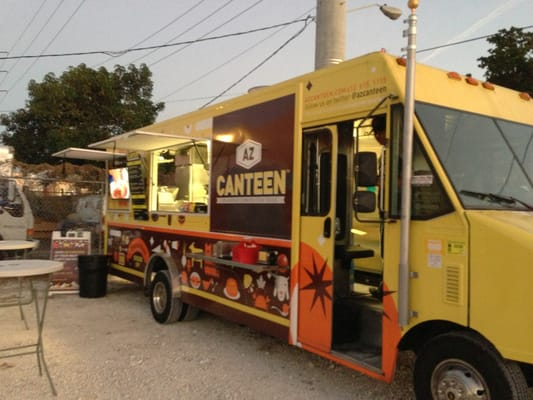 az canteen  food truck  american new  hollywood fl