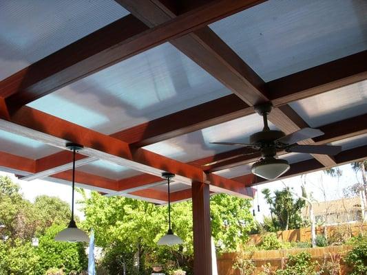 Waterproof patio cover