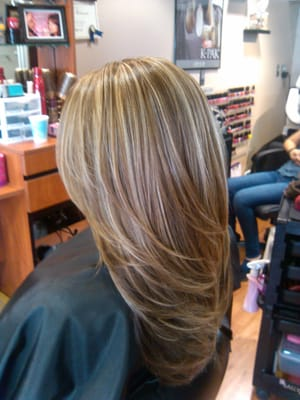 Hair Color, Highlights and Cut By: Nellie O. | Yelp