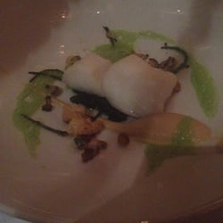 Tasting menu 3: halibut