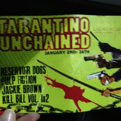 Awesome events in this cinema, like Tarantino month!