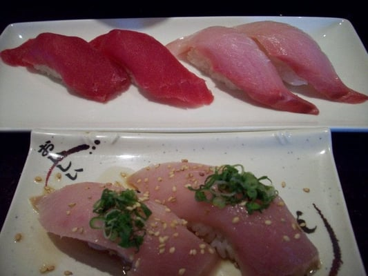 The gallery for albacore sushi roll for Yellowtail fish sushi