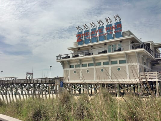 Nd Ave Pier Restaurant Myrtle Beach