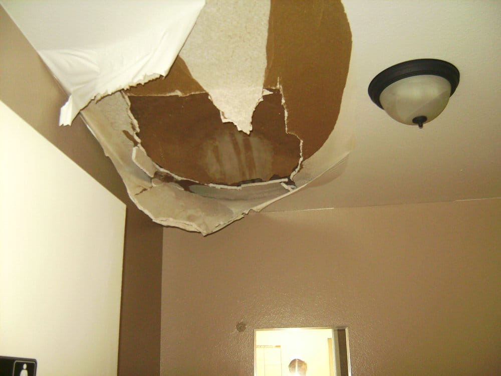 Yikes Ceiling Is Falling Down There Was A Water Leak