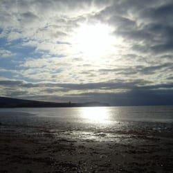 ayr beach, Ayr, UK