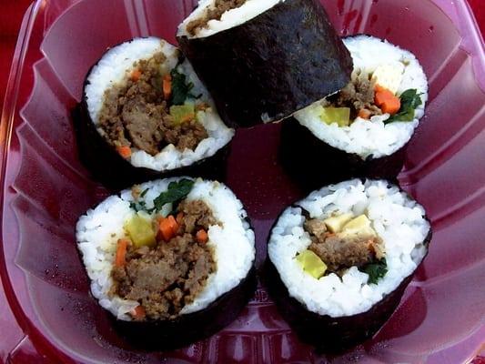 beef kimbap | Yelp