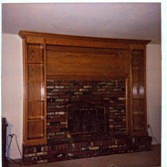 Fireplace Surround Oak Bookcases Yelp