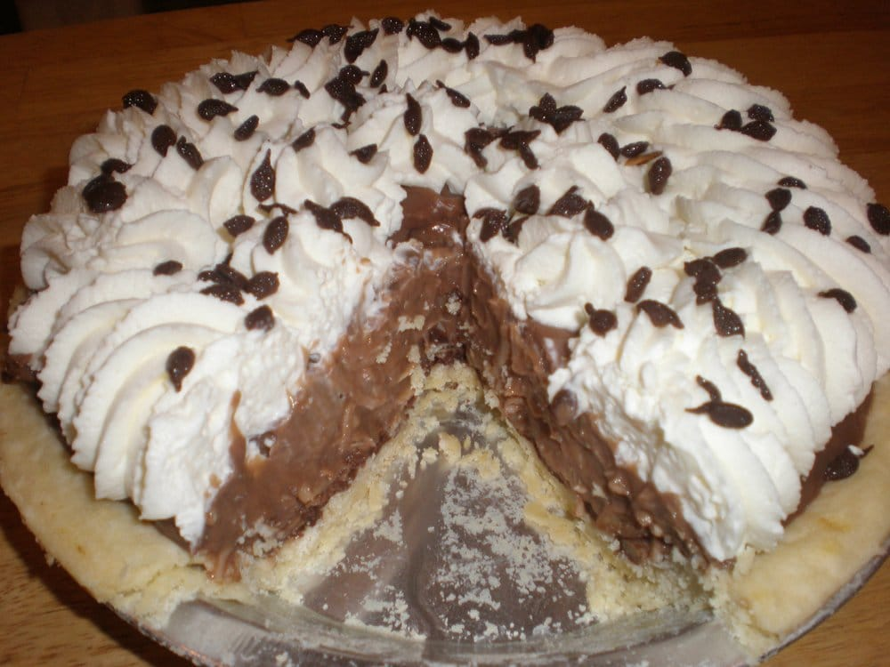 German Chocolate Cream PIe | Yelp