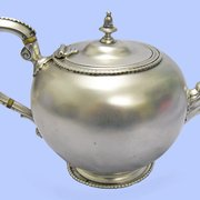 Sterling Silver Teapot, 1879 by Houle www.mplevene.co.uk