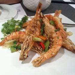 Spicy fried shrimp