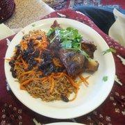 Lamb shank for Afghan cuisine renton