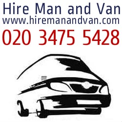 Hire Man and Van, London