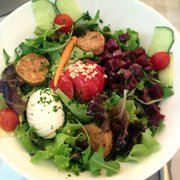 Goat cheese salad. Perfect!