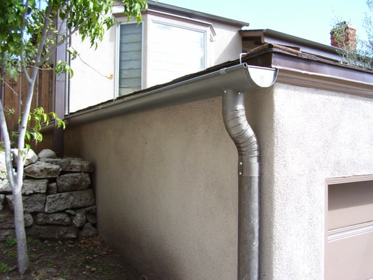 Stainless Steel Rain Gutter And Downspout Yelp
