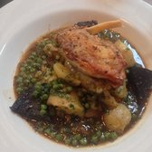Guinea Fowl with black pudding- delicious
