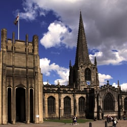 Sheffield Cathedral, Sheffield, South Yorkshire, UK