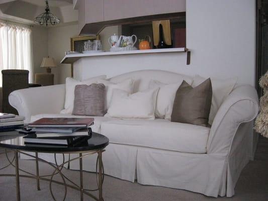 Camelback Sofa Slipcover Yelp