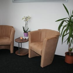 Unser Lounge im Chokdee Thai Massagestudio.