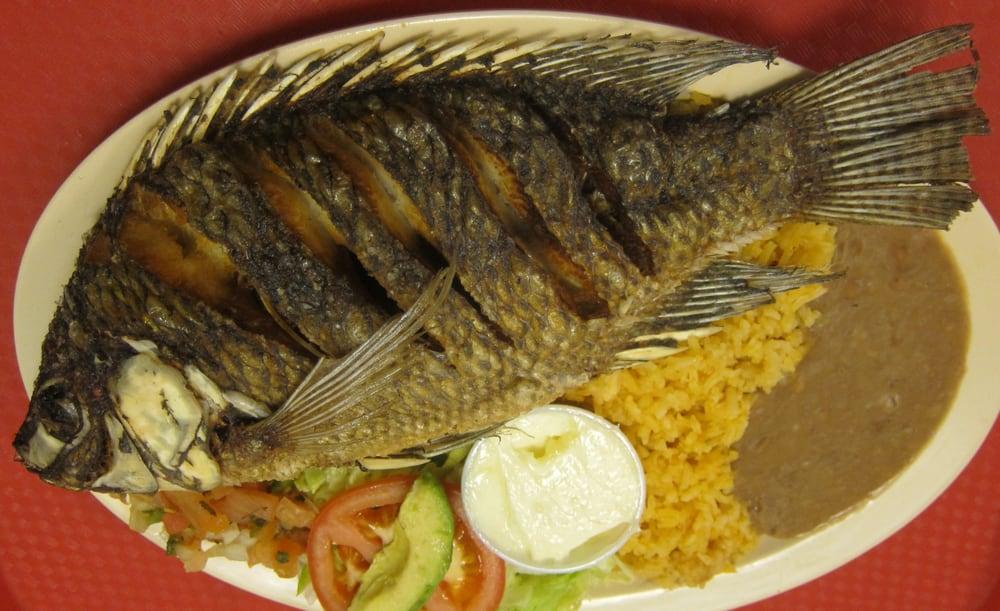Mojarra frita fried fish yelp for Best fried fish near me