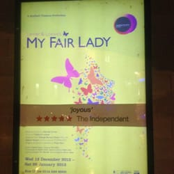 So excited!! #MyFairLady