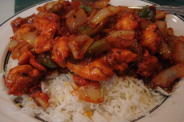 Indo Chinese Garlic Chicken | Yelp