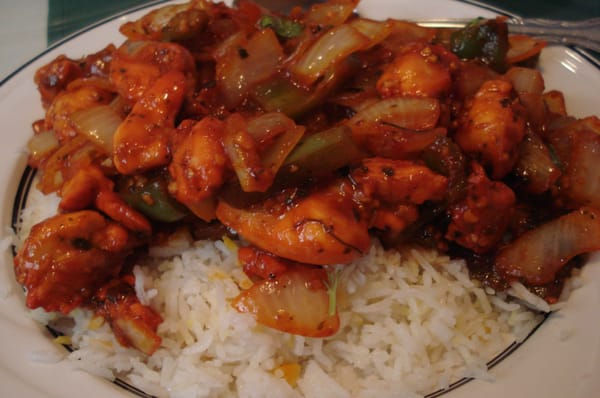 Indian Garlic Chicken Recipe — Dishmaps